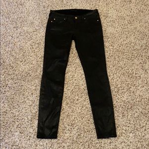 7 Jeans ! Black (Coated black)